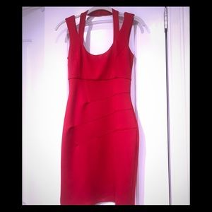 Red sexy guess dress